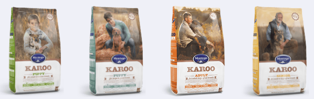 Montego_KAROO_Dog_Food_Range